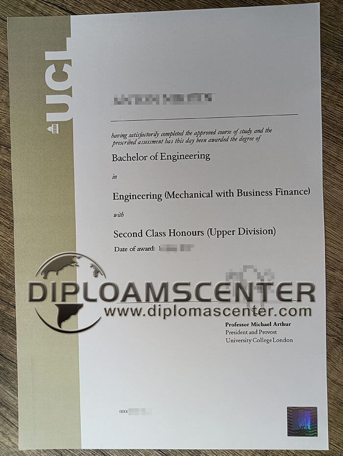 Buy UCL diploma online