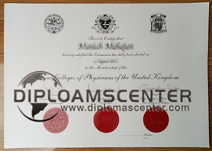 Royal Colleges of Physicians diploma.